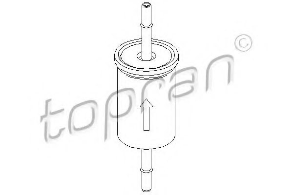 301655 topran 301 655 fuel filter for ford