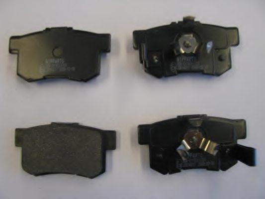 06430S9A010 DISC BRAKE PAD SET RR AN 492WK 43022 SV4 E50 43022