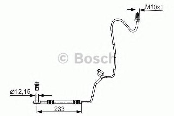 Borg /& Beck BBH7534 Brake Hose