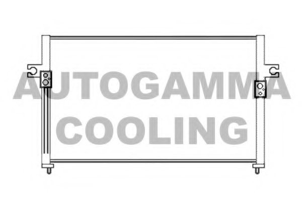 HYUNDAI 976064A001 Condenser, air conditioning