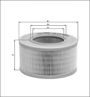 FORD 1504386 Air Filter