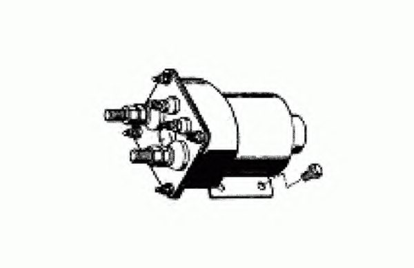 MACK 2132X10456391 Solenoid Switch, starter
