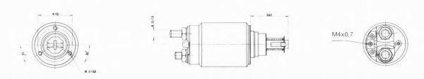 IVECO 2985133 Solenoid Switch, starter