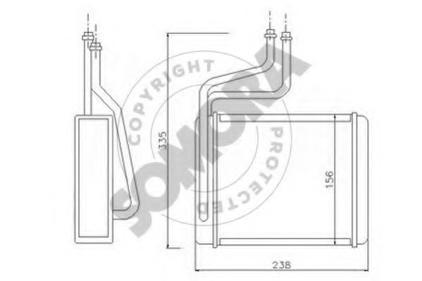 52481192 chevrolet 52481192 temperature switch  radiator