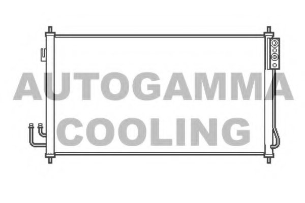 NISSAN 92110CA000 Condenser, air conditioning