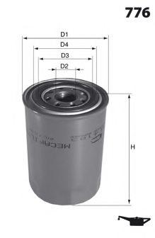Mecafilter ELH4308 Oil Filter