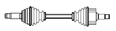 FORD 5018683 Drive Shaft