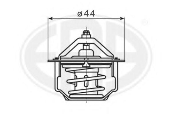 350380 era 350380 thermostat  coolant for chevrolet daewoo