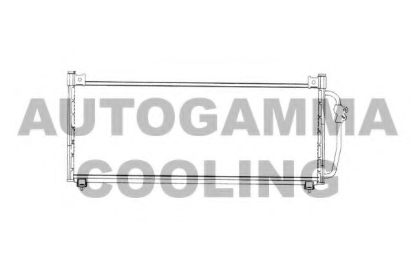 SUBARU 73210FA130 Condenser, air conditioning
