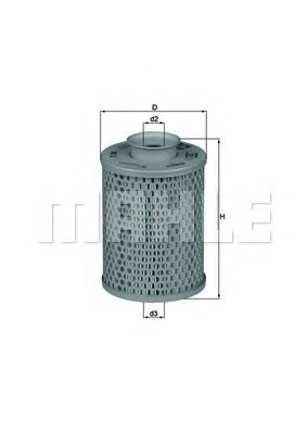 RENAULT 4033162440 Hydraulic Filter, automatic transmission