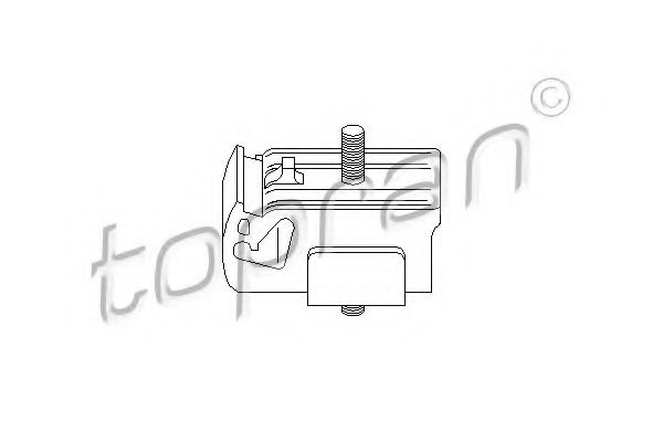 FORD 89AB6B032AD Mounting, manual transmission