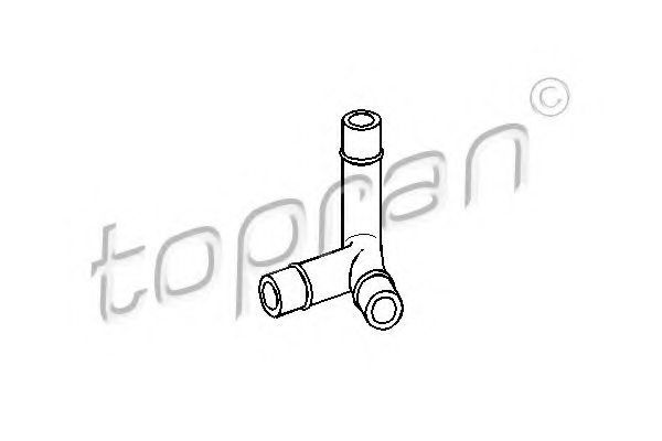 AUDI 048 103 493A Hose, cylinder head cover breather