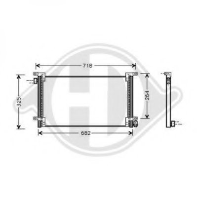 IVECO 99487944 Condenser, air conditioning