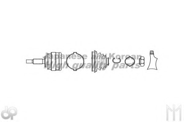 MAZDA F070-25-600A Joint Kit, drive shaft