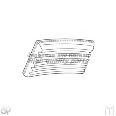 112-5PK855 V-Ribbed Belts