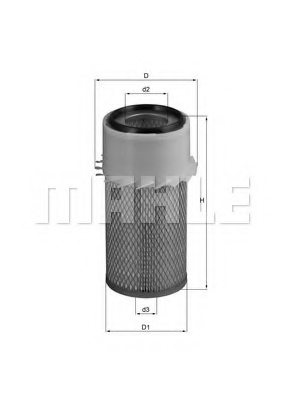 JOHN DEERE AT22892 Air Filter