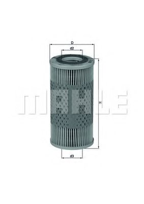 KNECHT OX 17D Hydraulic Filter, automatic transmission