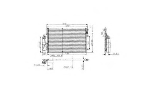 RENAULT 8200221132 Condenser, air conditioning