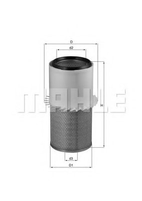 OSHKOSH 28063A Air Filter