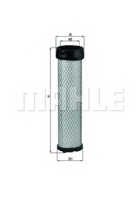 KUBOTA 3A11119130 Secondary Air Filter