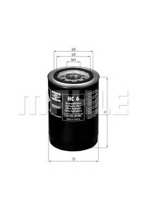 CASE IH 1276810C1 Hydraulic Filter, steering system