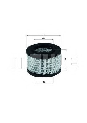 BMW MOTORCYCLES 13721250391 Air Filter