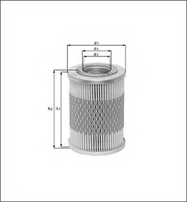 PERKINS 2654055 Oil Filter