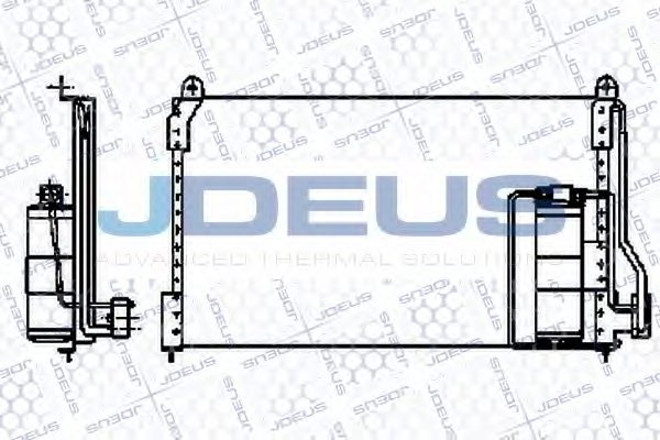 OPEL 1845619 Condenser, air conditioning