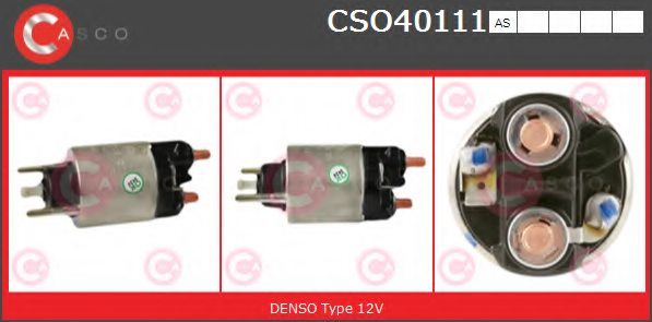 CASCO CSO40111AS Solenoid Switch, starter