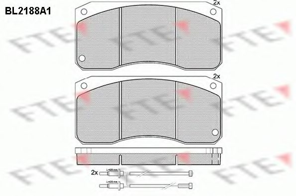 RENAULT TRUCKS 5000 297 345 Brake Pad Set, disc brake