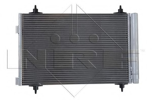 PEUGEOT 6455GG Condenser, air conditioning