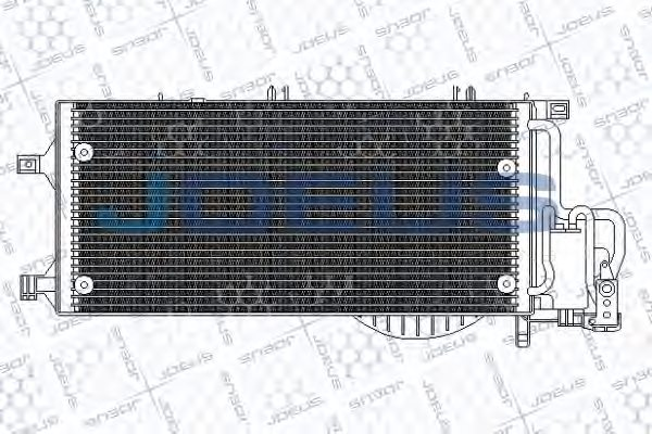 OPEL 1850071 Condenser, air conditioning