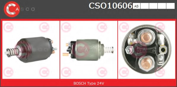 MERCEDES-BENZ A0011528010 Solenoid Switch, starter
