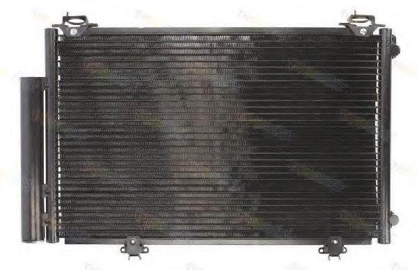 TOYOTA 884500D020 Condenser, air conditioning