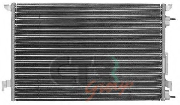 SAAB 24418362 Condenser, air conditioning