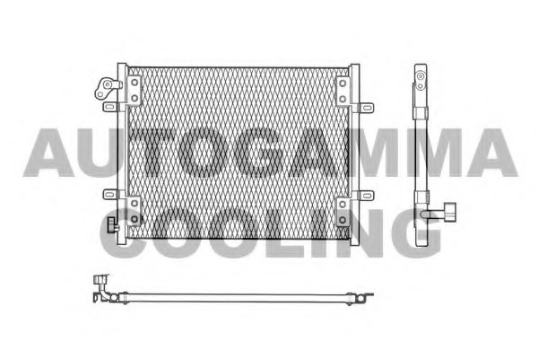 RENAULT 6025313325 Condenser, air conditioning