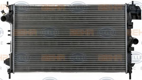 Opel  radiator engine cooling for fiat