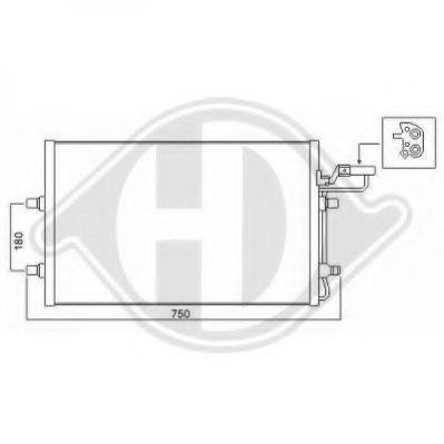 VOLVO 306479312 Condenser, air conditioning