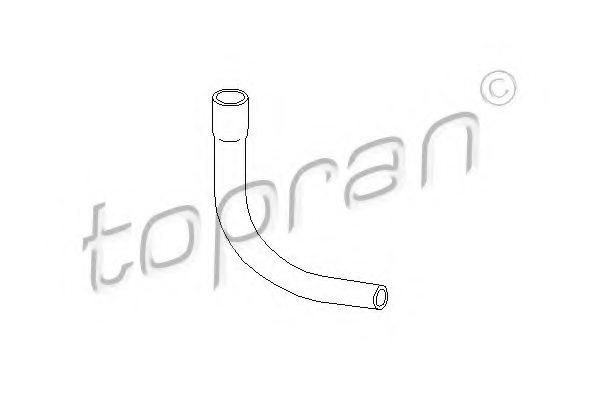 OPEL 90412281 Hose, cylinder head cover breather