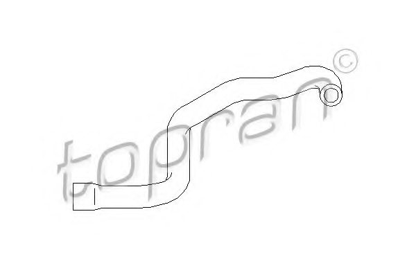 BMW 1115 1 708 801 Hose, cylinder head cover breather