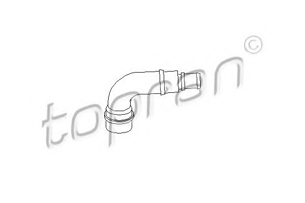AUDI 06A 103 213F Hose, cylinder head cover breather