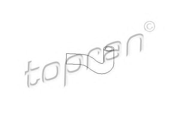 VW 026 103 493A Hose, cylinder head cover breather