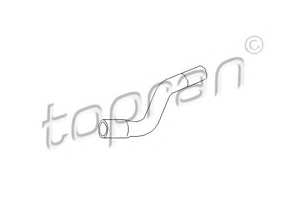 OPEL 90573529 Hose, cylinder head cover breather