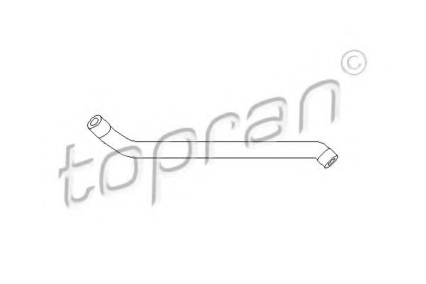 MERCEDES-BENZ 112 018 01 82 Hose, cylinder head cover breather