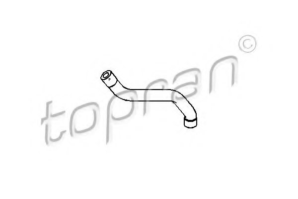 MERCEDES-BENZ 112 018 02 82 Hose, cylinder head cover breather