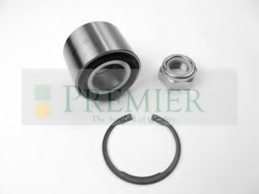 BRT Bearings BRT1087 Wheel Bearing Kit