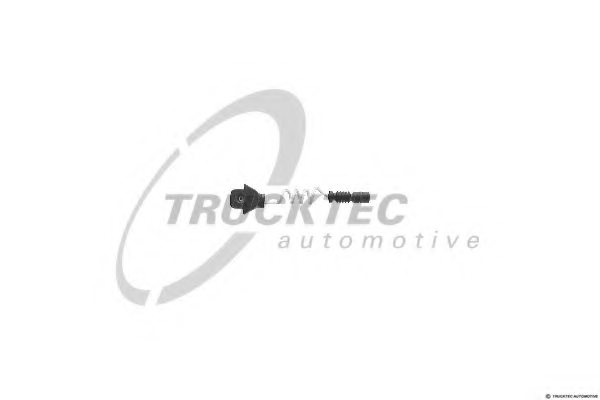 MERCEDES-BENZ 126 540 0617 Warning Contact, brake pad wear