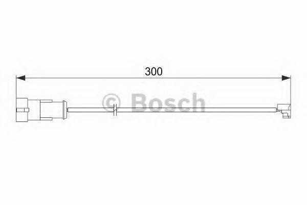 IVECO 42548208 Warning Contact, brake pad wear