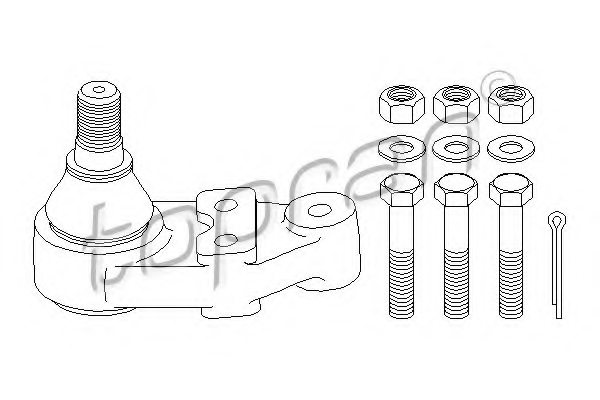FORD 5 021 430 Ball Joint