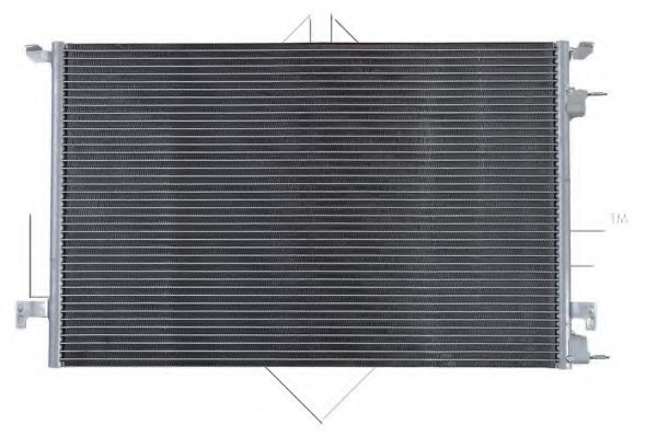 OPEL 1850095 Condenser, air conditioning
